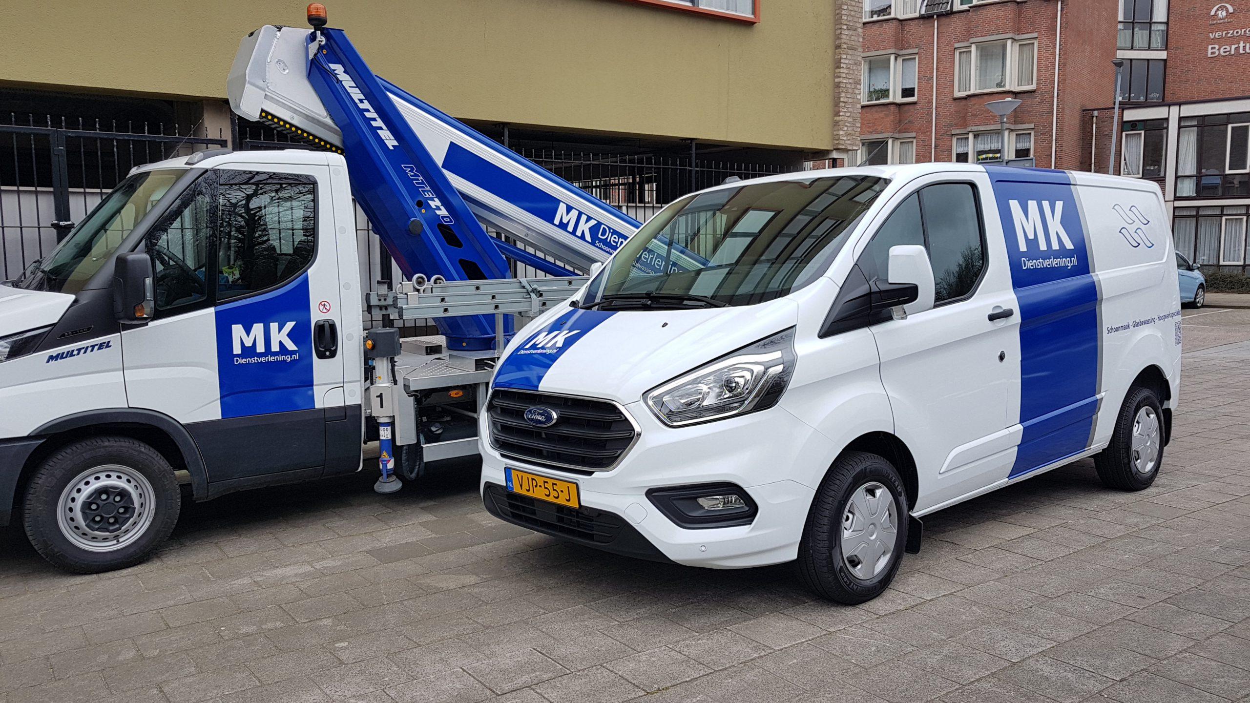 Nieuwe bedrijfswagen